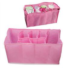 Wickeltasche Windeltasche 7 Fläche Windel Wickel Baby Tasche Aufbewahrung Pink