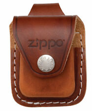 "Zippo Lighter ""Brown Leather Pouch"" w/Belt Loop, LPLB"
