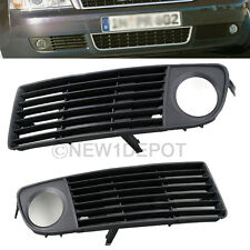 Front Bumper Lower Fog L&R Light Side Grille Pair Fit for Audi A6 1998-2001 ND