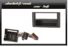 Set Radioblende + Adapter FORD GALAXY S-MAX TRANSIT 2006-   KUGA Einbaurahmen 1D