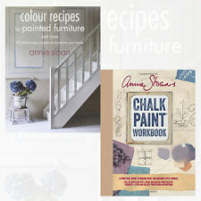 Annie Sloan 2 Books Collection Set (Chalk Paint® Workbook,Colour Recipes)NewPack