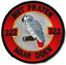 Kandahar whacker RoNLAF 322nd Sqn Polly Parrot F-16 Close Air Support Insignia