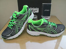 ASICS GEL-PATRIOT 6 BLACK NEON  COURSE RUNNING TRAINERS   SIZE UK 7 EURO 41.5