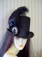 Kentucky Derby Top Hat, Steampunk Hat, Civil War, Equestrian Top Hat, Victorian