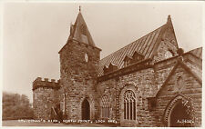 North Front, St. Conan's Kirk, LOCH AWE, Argyllshire RP