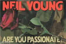 Neil Young Are You Passionate? Promo Album Release Card 2002