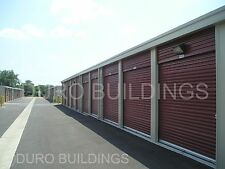 DURO Steel Mini Self Storage 40x100x9.5 Metal Prefab Building Structures DiRECT