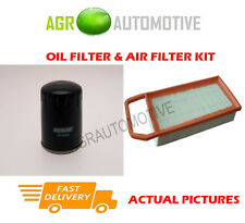 PETROL SERVICE KIT OIL AIR FILTER FOR PEUGEOT 407 SW 3.0 211 BHP 2004-10