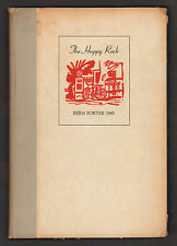 The Happy Rock: A Book about Henry Miller/Bern Porter. Limited Edition No. 272