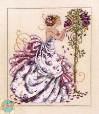 Cross Stitch Chart / Pattern ~ Mirabilia Roses of Provence Elegant Lady #MD124