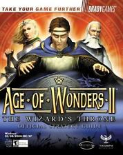 Age of Wonders II : The Wizard's Throne Official Strategy Guide by Bart...