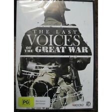 Last Voices of the Great War WW1 DVD Great Veteran Interviews New 2x Disc DVD