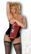 CUPLESS BASQUE / CORSET WITH THONG SIZE Small 8-10