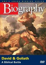 BIOGRAPHY: DAVID & GOLIATH - A BIBLICAL BATTLE (A&E DOCUMENTARY) NEW AND SEALED