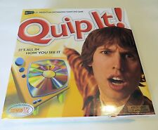 Quip It DVD / HD Video Board Game - Brand New and Sealed - Fun Game!!