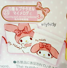 Sanrio My Melody Drawstring Pouch & Towel Handkerchief  Lottery Prize #23