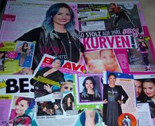 Demi Lovato 27 pc German Clippings Collection 2 x Poster Cover