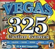 Vegas Jackpot Gold: 325 Casino Games (PC & Mac) (Jewel Case) Activision Video G