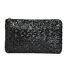 Worth while Women Sequins Dazzling Glitter Bling Evening Clutch Bag Handbag