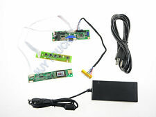 V.M70A VGA LCD Controller Board DIY Driver LVDS Inverter+12V 4A Power Adapter