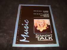 STRAIGHT TALK Oscar ad Dolly Parton for Best Song & USED PEOPLE Shirley MacLaine