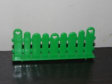 Vintage My Little Pony Jumping Fence Show Stable Piece Green