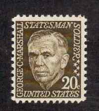 Scott #1289..20 Cent.. George C. Marshall....50 Stamps