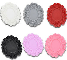 30PCS Mixed Resin Cameo Frame Settings Embellishment