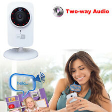SD Security Camera Baby Monitor For iPhone 6s Samsung Galaxy S7 Wireless IP WiFi