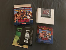 virtual boy game hyper fighter with box manual complete CIB