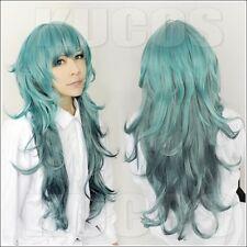 Tokyo Ghoul Aogiri Tree Eto Takatsuki Sen Long Green Layered Cosplay wig