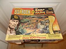 SGT. ROCK vs THE BAD GUYS The Ultimate Enemy Action Set BOX!!!! Box only!! 1982