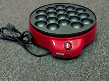 Japanese TAKOYAKI Grill pan maker cooking plate stove machine