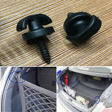 Universal Car Rear Trunk Envelope Cargo Net Tie Down Hook Ring Loop Hanging 2pcs