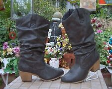 "Charles Albert  Boots Size 10  WITH 2.5"" Heel"