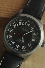 "RAKETA 24 HOURS  ""Aviator"" Good Mens Watch  Vintage  Soviet   2nж"