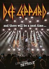 DEF LEPPARD-AND THERE WILL BE A NEXT TIME...LIVE FROM DETROIT   DVD NEW+