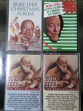 Burl Ives x 4 The Magic Balladeer Christmas Album Santa Claus Is Coming To Town