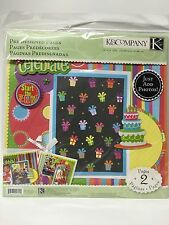 NEW, K&COMPANY BIRTHDAY PRE-DESIGNED PAGES SCRAPBOOK-12x12 IN. CODE-30156241