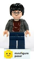 hp057 Lego Harry Potter 10132 4758 - Harry Potter Open Shirt Minifigure - New