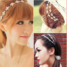 Fashion 1Pc Chic Elastic Metal Rhinestone Head Chain Jewelry Headband Hair Band