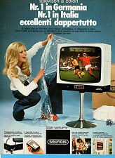 (AM) EPOCA976-PUBBLICITA'/ADVERTISING-1976- GRUNDIG COLORE 26 POLLICI (vers. B)