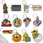 PVC Keyring - Retro Novelty TV Film Keychain Goonies Boosh Flintstones Choice