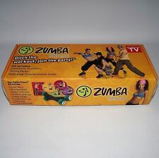 Zumba fitness tonifiant sticks + 2 dvd et guide livre exercice dance workout boxed