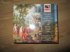 HMV CLASSICS COLLECTION 4 CD SET classical music box set AIR EARTH WATER FIRE