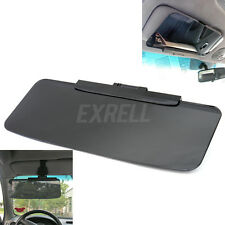 Practical Car Auto Vehicle Shade Sun Visor Extension Driving Window Shield Black
