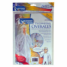 Painting and Decorating White All in One Overalls Hooded Suit