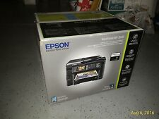 NIB Epson WorkForce WF-3640 All-In-One Wireless Printer Copy Scan Fax *AirPrint*