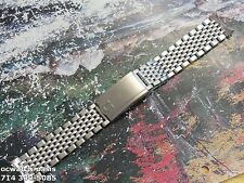 1960's Vintage OMEGA Seamaster Beads Of Rice Bracelet, Excellent Condition