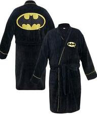Batman: Official DC Comics Logo Fleece Bathrobe Dressing Gown - New With Tags